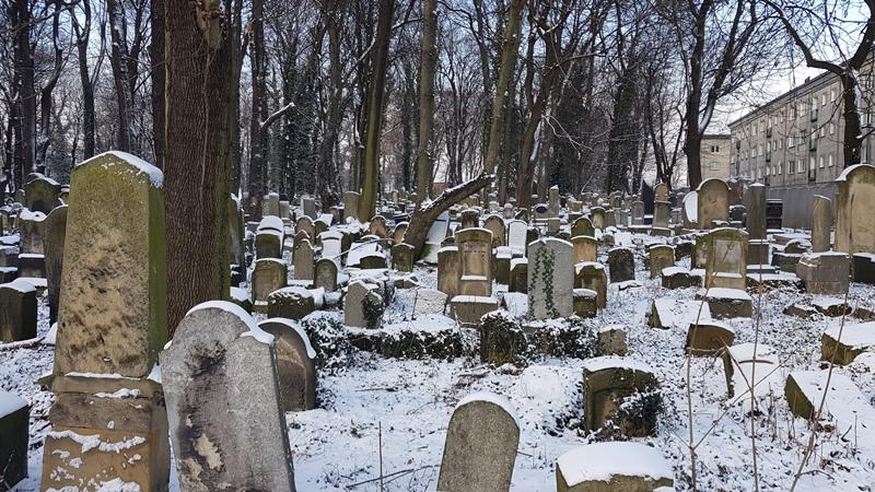 Oude Joodse begraafplaats Kaziemierz