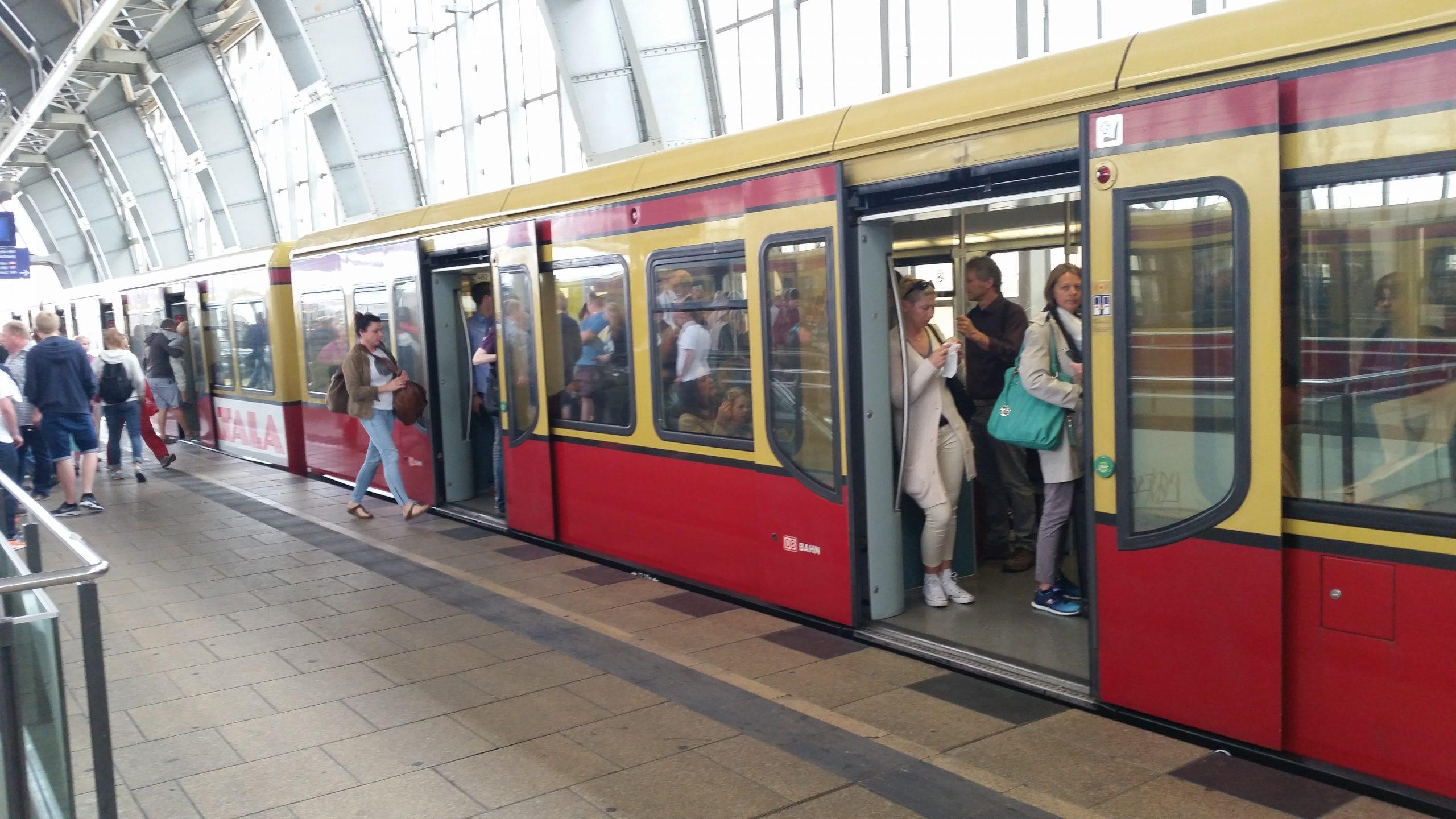 Metro in Berlijn