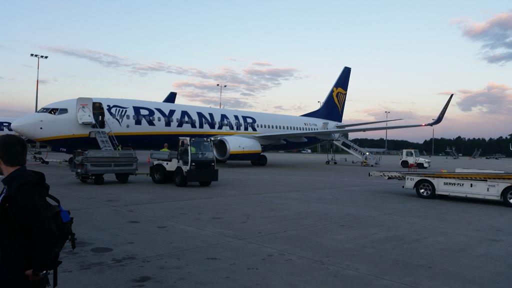 Ryan Air Vliegtuig