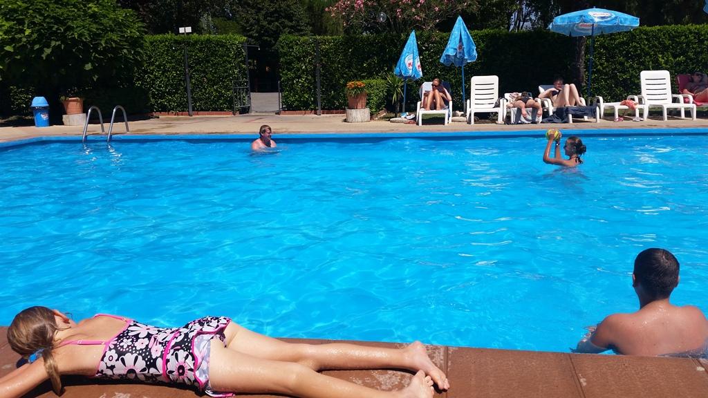 Zwembad Camping Tiber