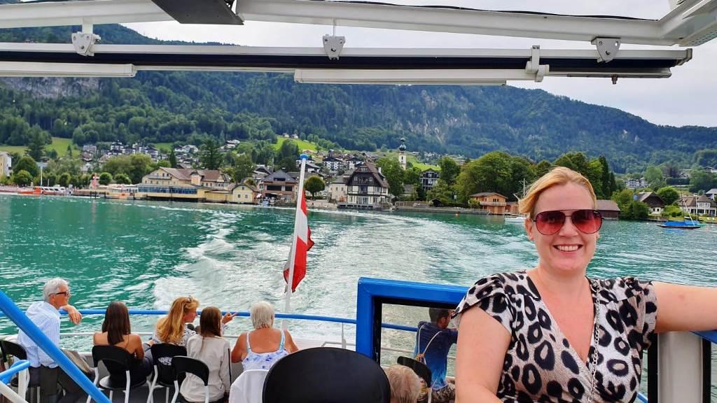 Rondvaartboot Wolfgangsee Oostenrijk