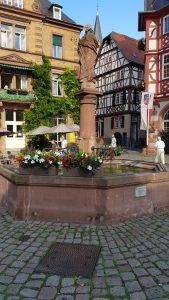 Fontijn in het centrum