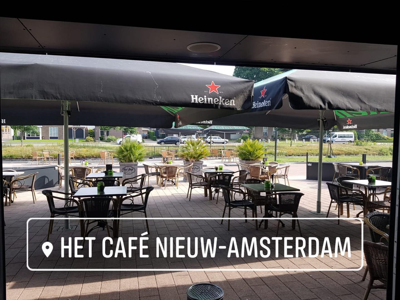 Het Café Nieuw-Amsterdam