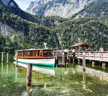 De Königssee in Berchtesgaden