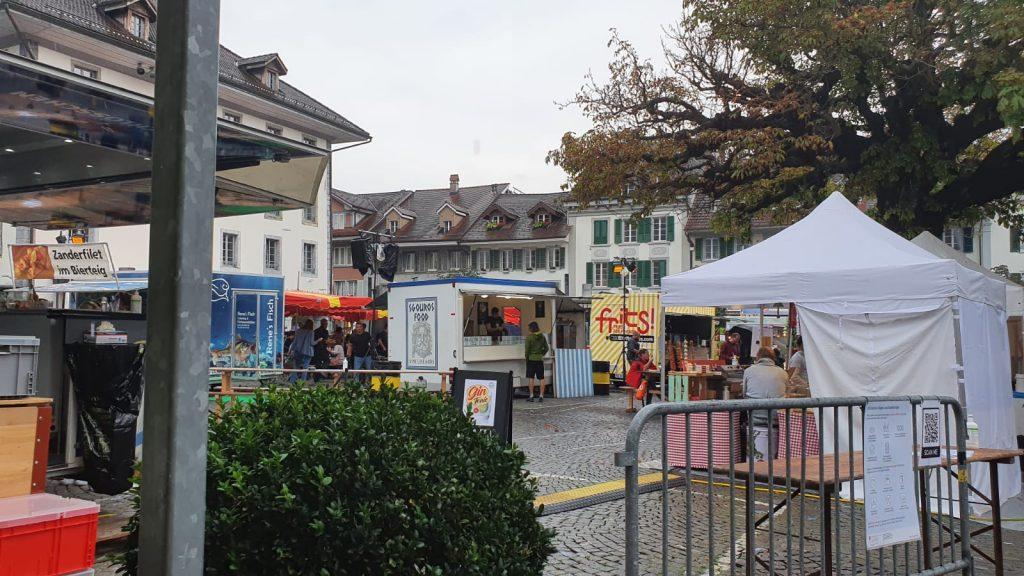 Foodtruckfestival in Interlaken