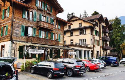 Alpenrose en Gardens Hotel in Wilderswil