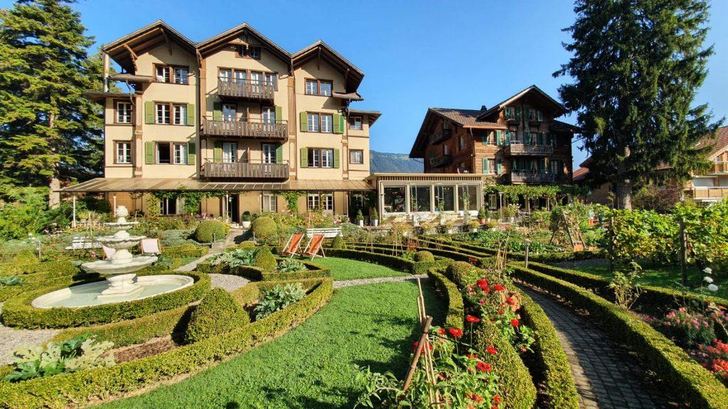 Alpenrose Hotel and Gardens, Wilderswil Zwitserland