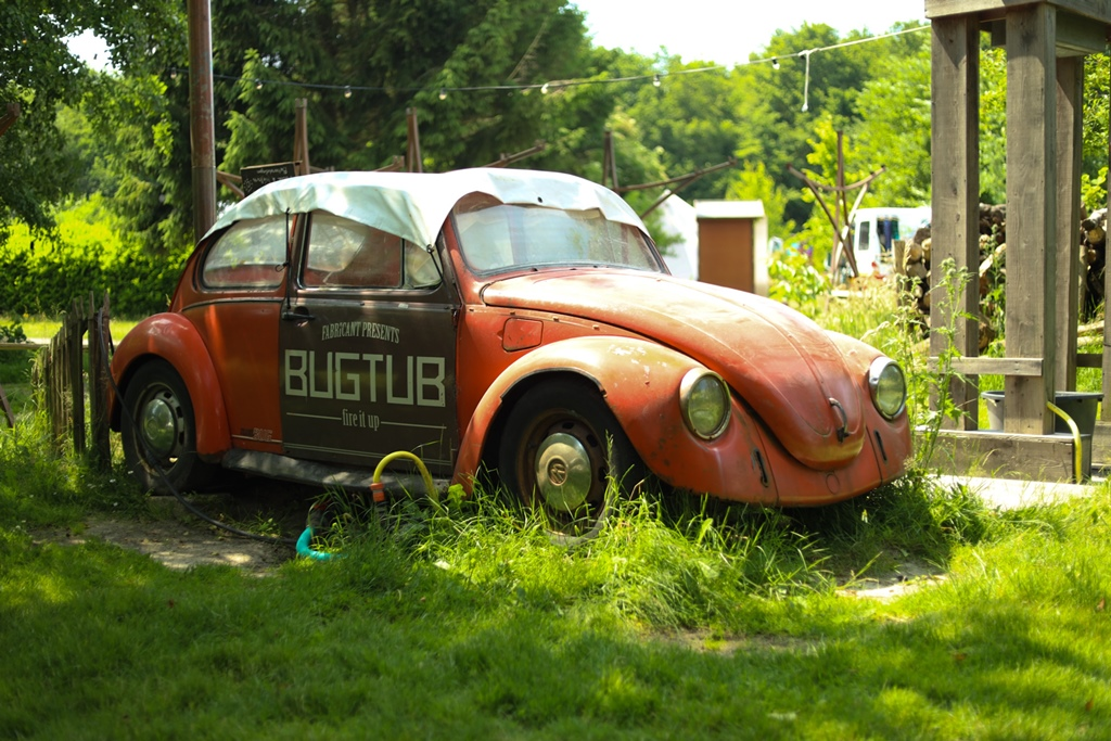 BugTub Camping Buitenland