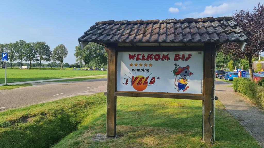 Camping 't Veld in Hardenberg